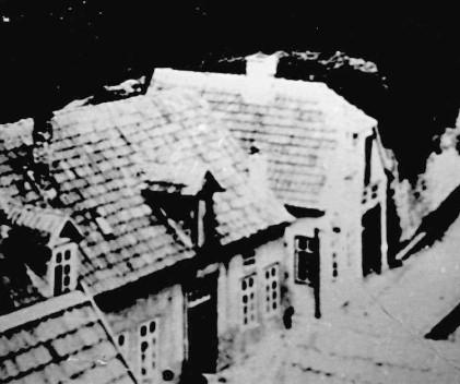 Historische Aufnahme der Häuser 35 und 36