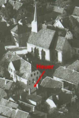 Luftbild , April 1957