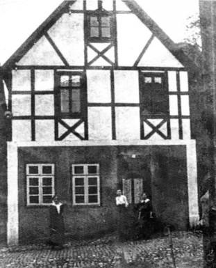 Gebäudeansicht 1915