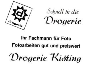 Werbung Kisting 1982