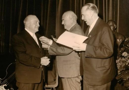 Josef Hunke erhielt die Goldene Ehrennadel des Kneipp-Bundes