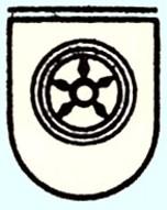 Altes Iburger Wappen / Logo, um 1955