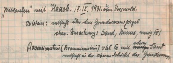 Feldbuch Hiltermann
