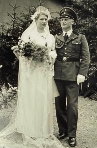 Hochzeit Marianne, geb. Pohlmann, und Fritz Dempewolff