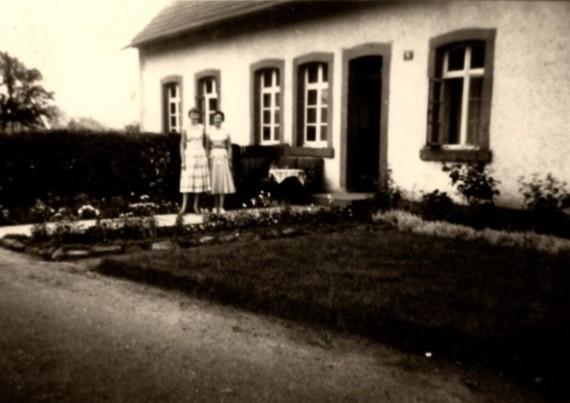 Ansicht des Wohnhauses 1956