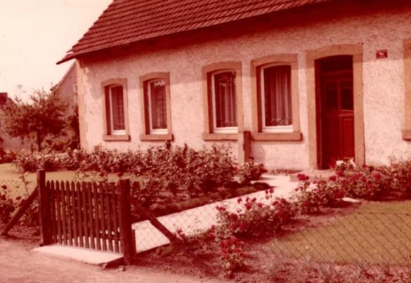 Ansicht des Wohnhauses 1960