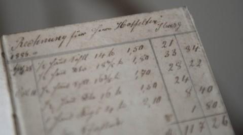 Rechnungsbuch 1886