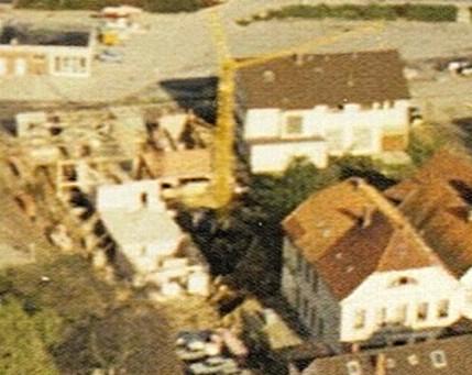 Baumaßnahmen an der Beckerteichpforte, 1972