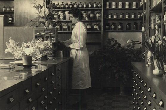 Lieselotte Schlotheuber, um 1950