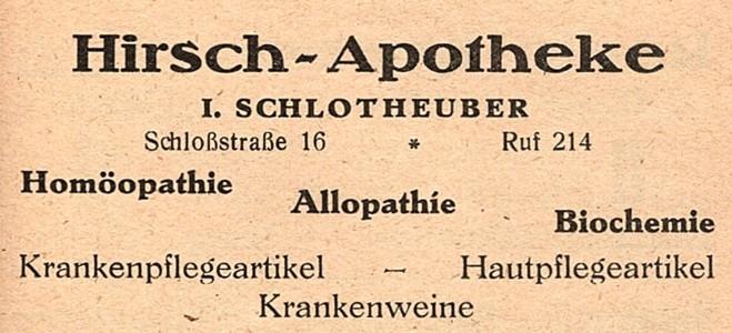 Gewerbliche Anzeige, 1935