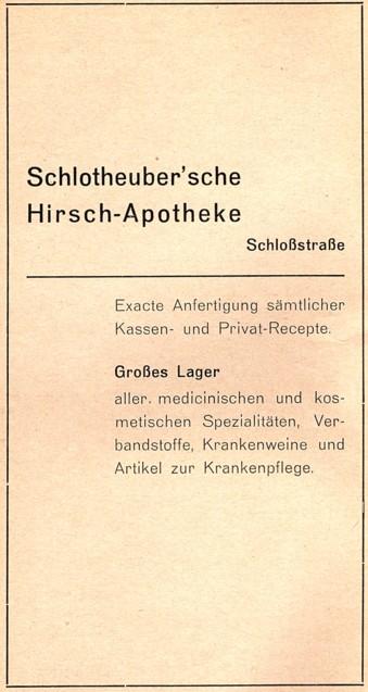 Gewerbliche Anzeige, 1937