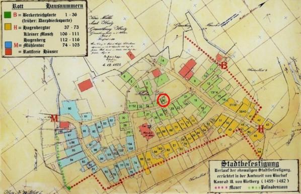 Plan von 1875