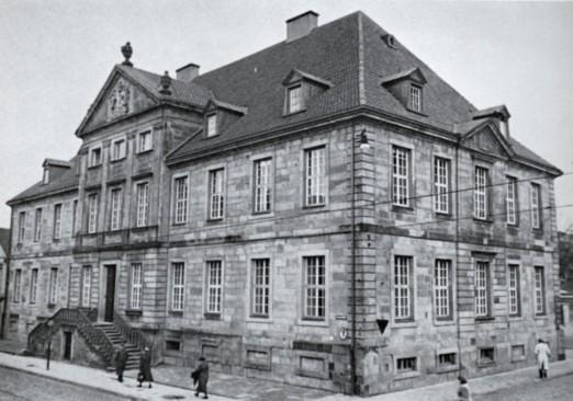 Einstige Fürstbischöfliche Kanzlei - später Bischöfliche Kanzlei, Hasestraße