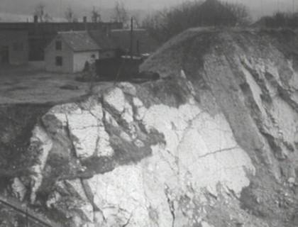 Blick von Südwesten in den Steinbruch