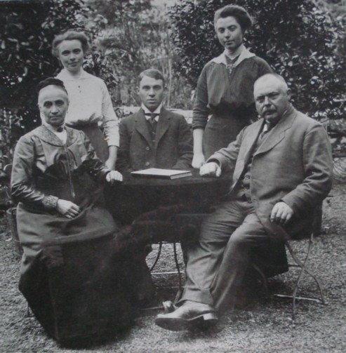 Familienaufnahme um 1914
