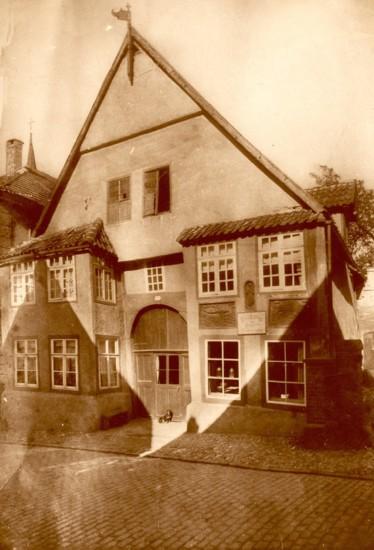 Haus Wedekämper, Fotografie von Hans Hasekamp, 1926