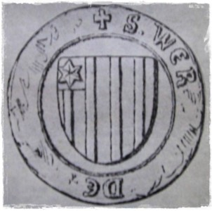 Wappen von Werner von Vlatten (1324 - 1367)